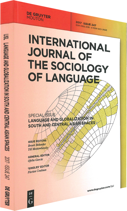 International Journal of the Sociology of Language
